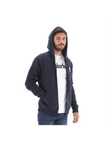 Timberland YC Core Tree Logo Full zip hoodie (Brus TBL TB0A2BJJU101Dark SapM        Lacivert